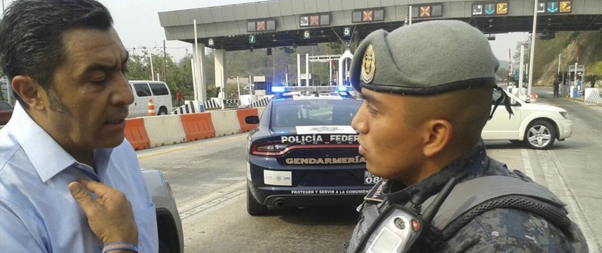 """""""Prepotentes y armados"""", el equipo de Jorge Camacho, dice la PF"""