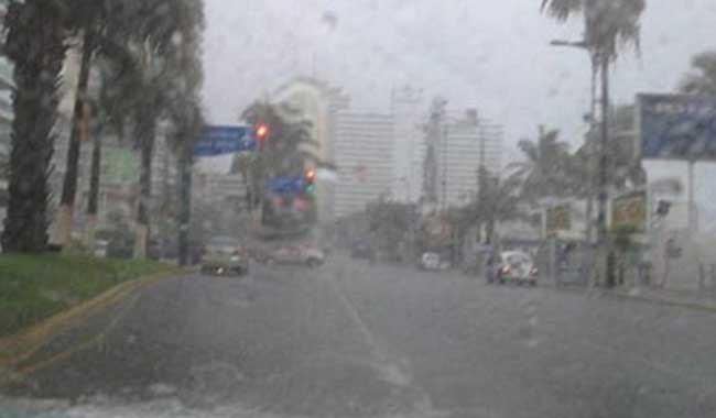 Lluvias en Guerrero afectarán a Costa Chica, Montaña y Acapulco