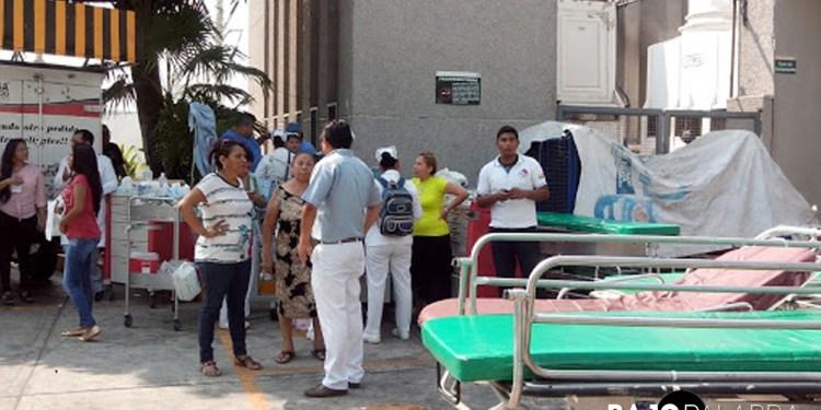 Una explosión en el cuarto de rayos X, la causa del incendio en hospital 3