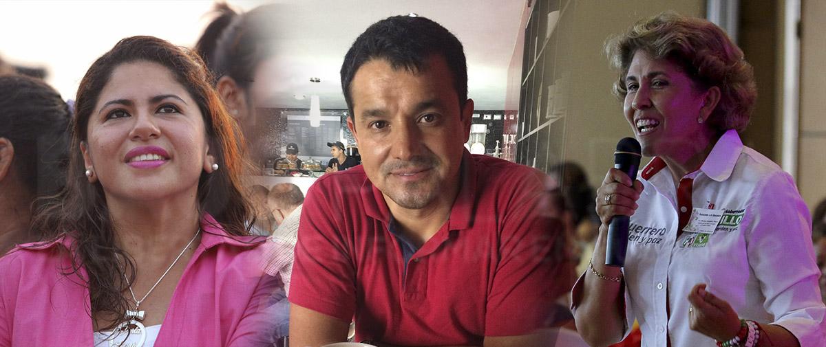 Las y los consortes del poder en Guerrero