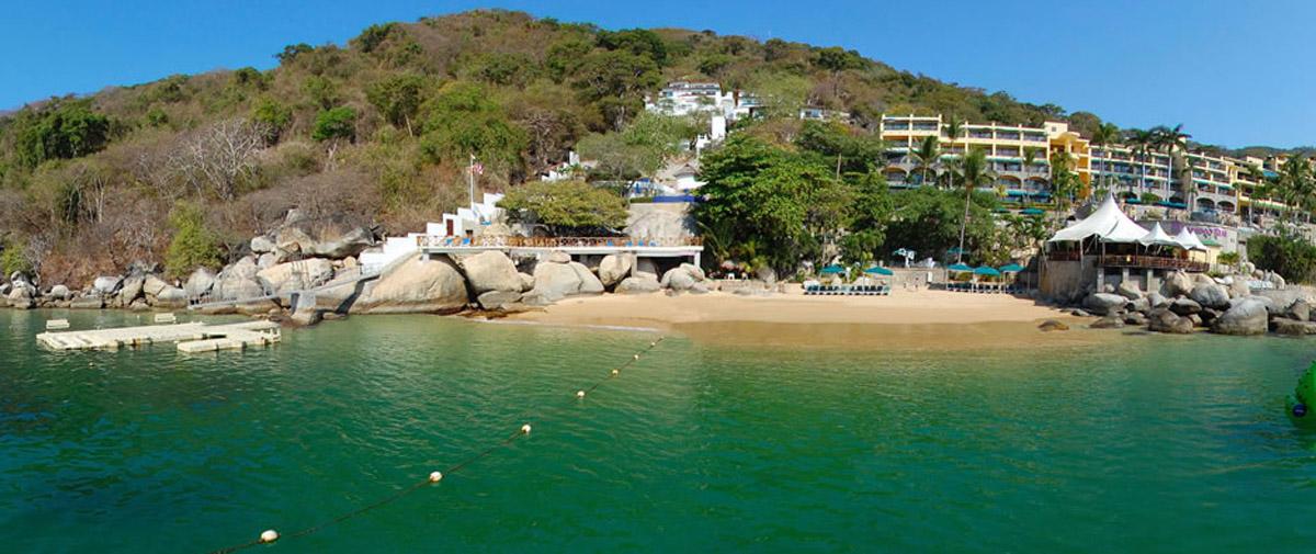 Realizan limpieza subacuática en La Roqueta de Acapulco
