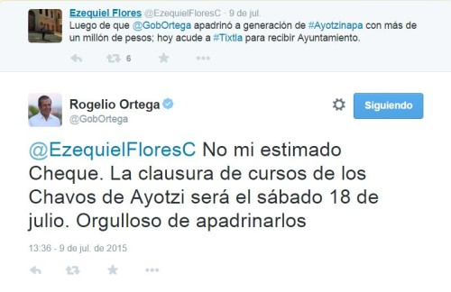 Ortega - Tuit