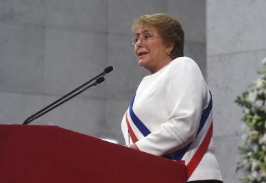 Bachelet pide entregar a justicia datos sobre violaciones en dictadura