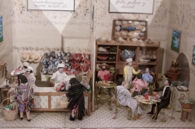 Exhibición de maquetas conmemora aniversario luctuoso de Monsiváis