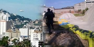 Dirigible realiza aterrizaje forzoso en Acapulco 4