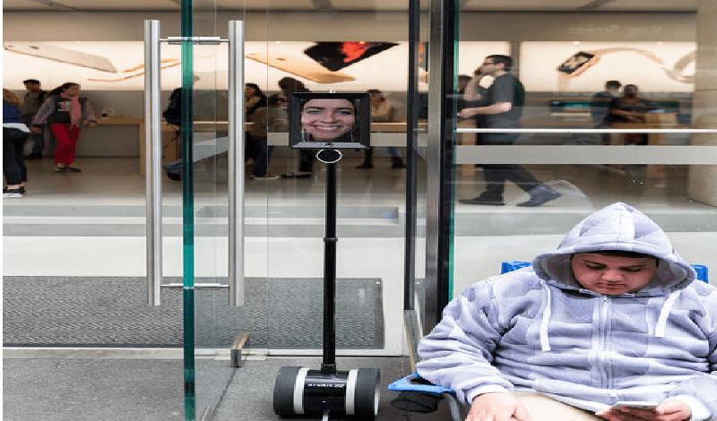 Robot hizo fila en Australia para comprar el nuevo iPhone 6s