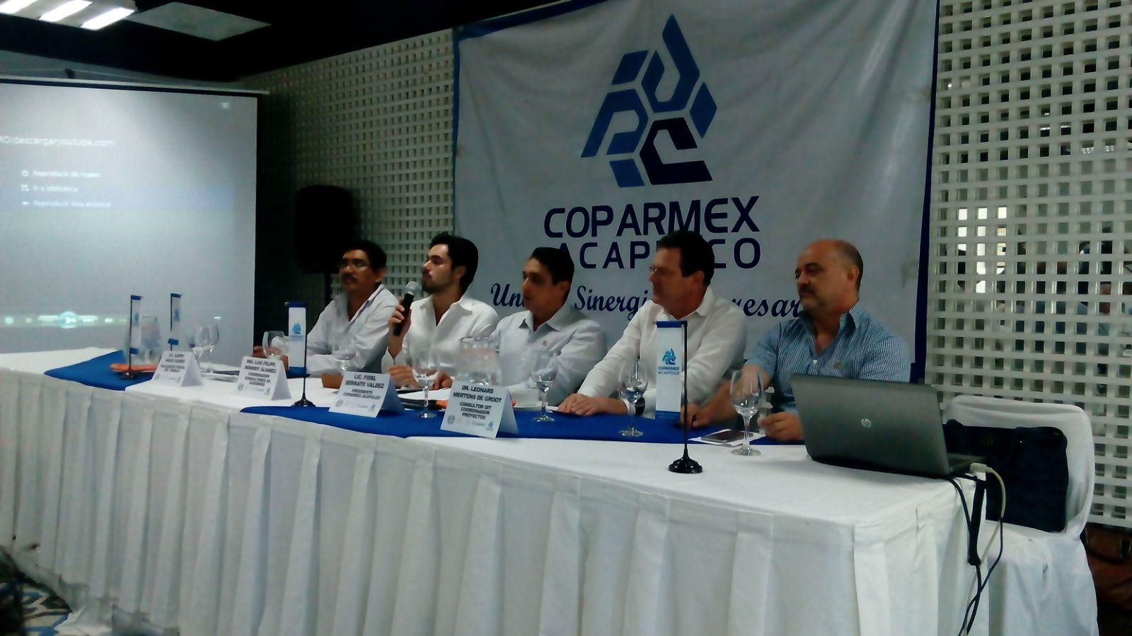 No limitar estrategia de seguridad a la Costera, pide Coparmex Acapulco