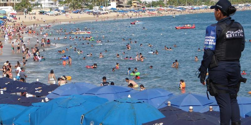 Desafía el crimen a operativo de seguridad en Acapulco