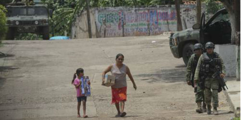Fuera de programa federal municipios violentos de Guerrero