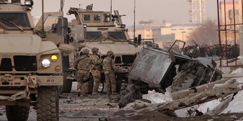 Atentado en Kabul deja 5 muertos