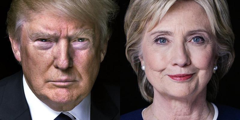 Trump reduce la ventaja de Clinton en California