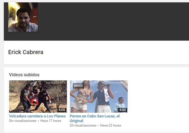 Erick Cabrera - Extorsionador de maestra Clarissa
