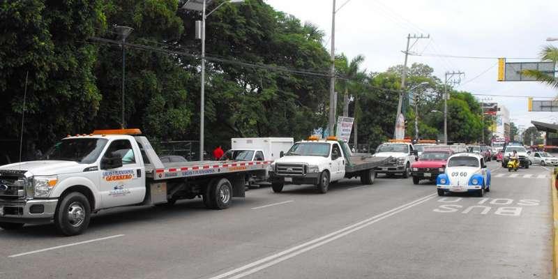 Coludidos ministerios públicos con empresas de grúas en Acapulco