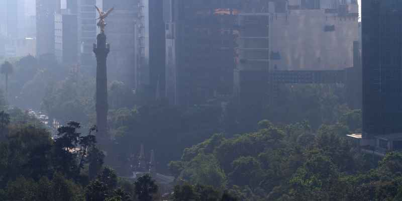 CDMX: Inicia semana con calidad del aire regular