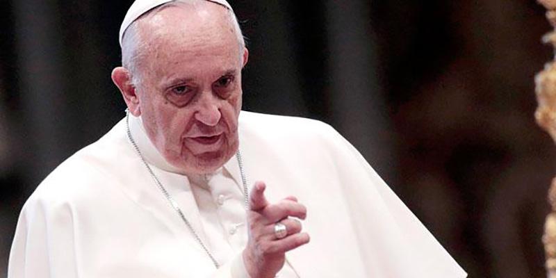 Religiones deben condenar terrorismo: Papa