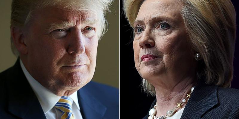 Aventaja Clinton a Trump en recta final