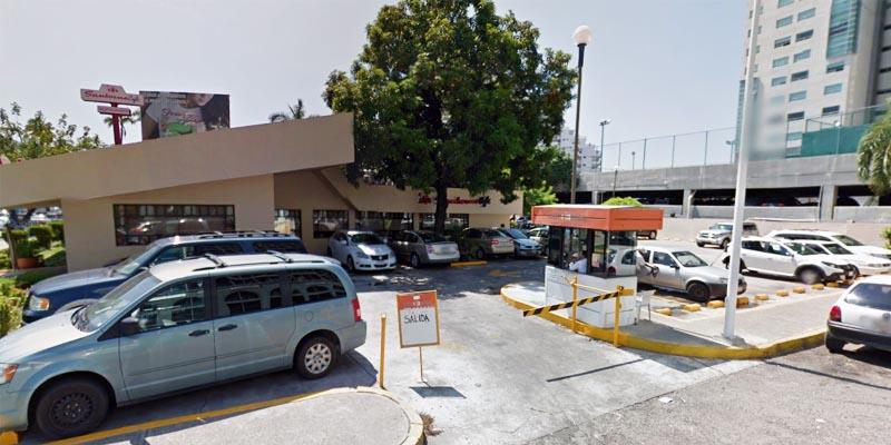 Irregular, servicios de estacionamientos en Acapulco
