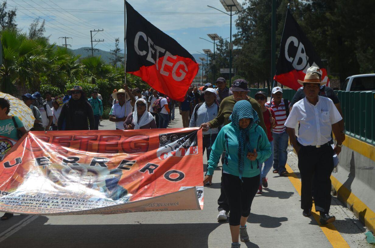 CETEG marcha Chilpancingo