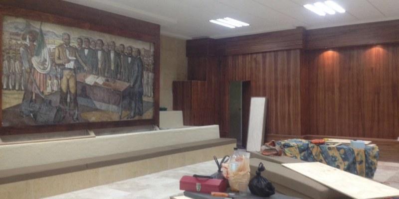 Remodelación del Cabildo de Acapulco al 95%
