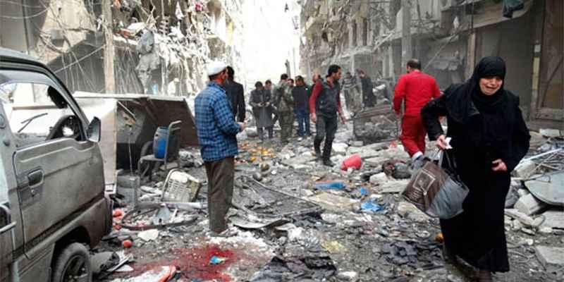 Bombardeos en Alepo dejan más de cien civiles muertos