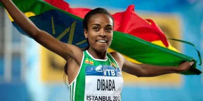 Etíopes Dibaba y Seyaum califican en mil 500 metros de Río