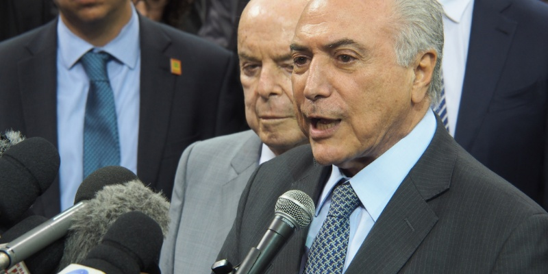 Asume Temer presidencia de Brasil