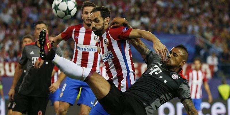 Atlético de Madrid vence 1-0 a Bayern Munich en Champions League