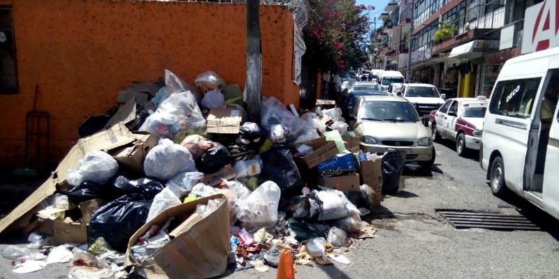 Fracasa alcalde Leyva Mena en programa emergente de basura