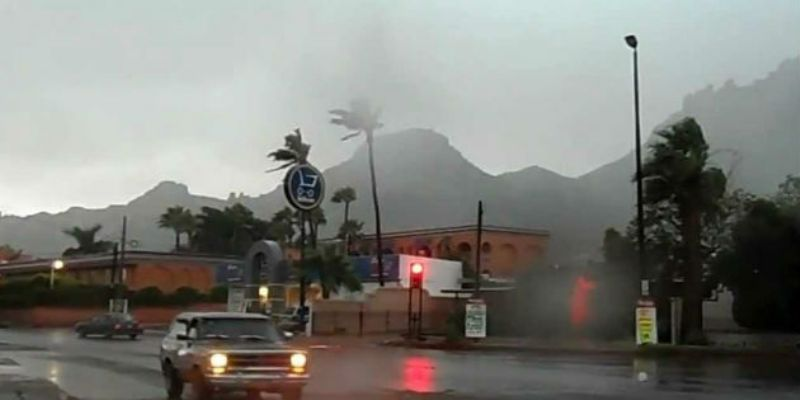 Declaran emergencia en dos municipios de Sonora, por 'Newton'