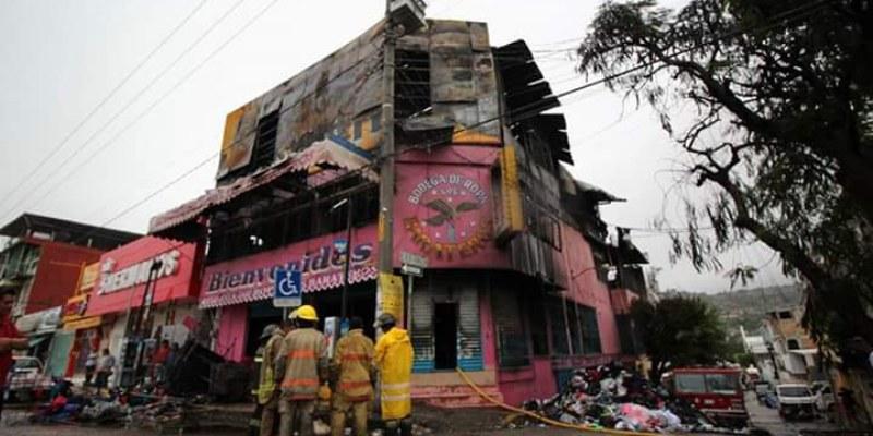 Por no pagar cuota quemaron tienda en Chilpancingo: Coparmex
