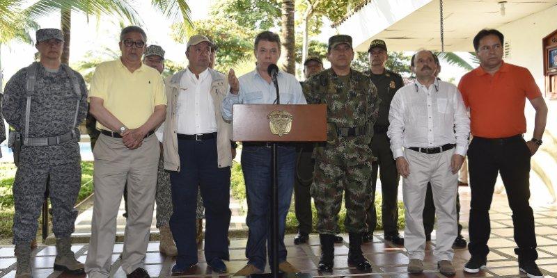 Presidente Santos entrega a la ONU acuerdo de paz de Colombia