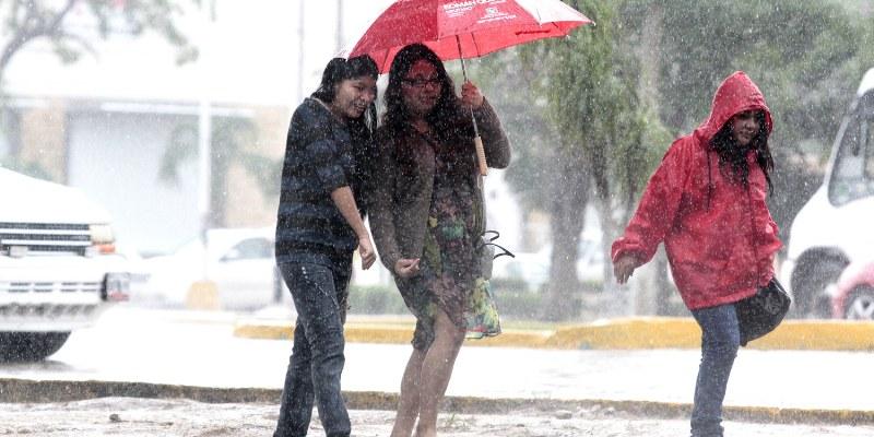 Vientos fuertes y lluvia dejará nuevo frente frío en el país