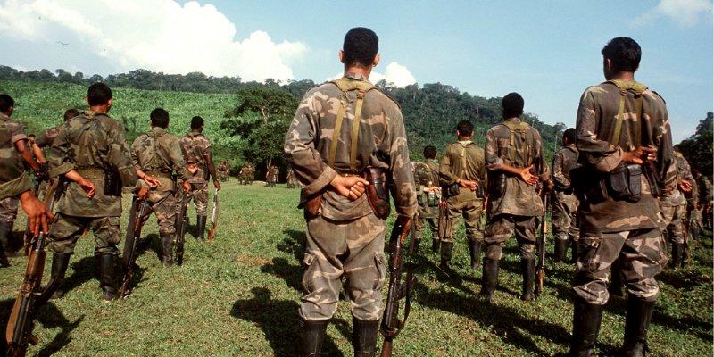 Reaparecen paramilitares en Colombia