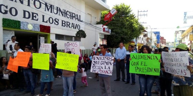 Se revelan sindicalizados de Chilpancingo contra Leyva Mena