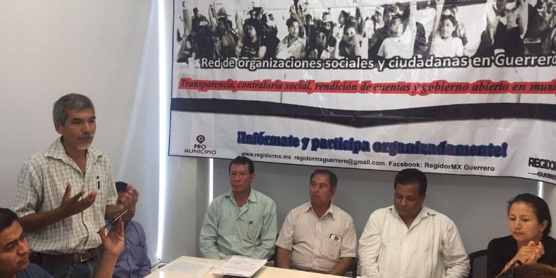 Piden transparentar gobierno de Acapulco con regidor ciudadano