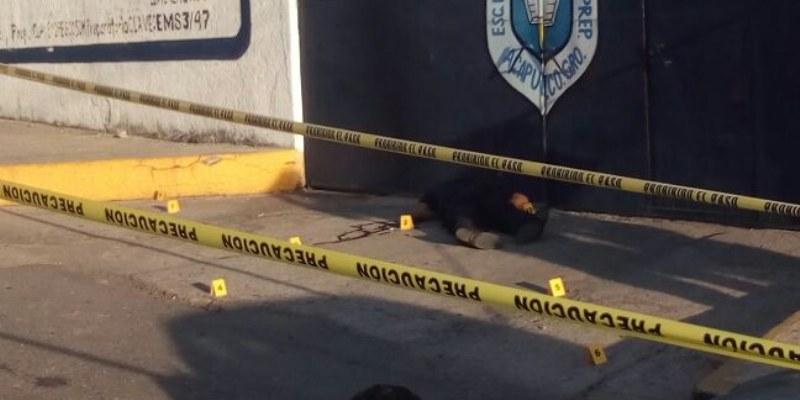 Tirotean a policía frente a escuela de Acapulco