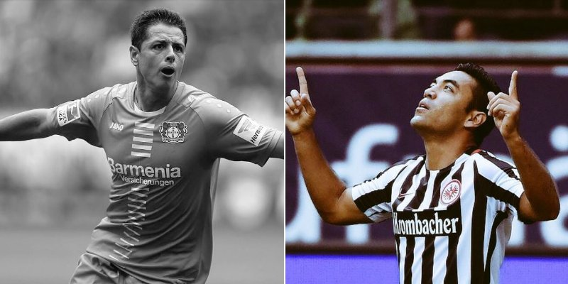 Chicharito falla penal y gana el Eintracht de Marco Fabián