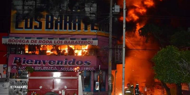 Complejo comprobar si incendio en tienda de Chilpancingo fue provocado: FGE