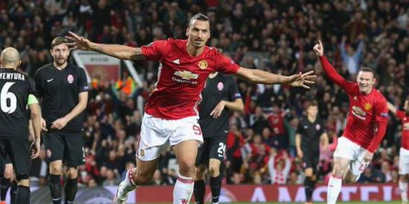 Manchester United vence 1-0 al Zorya Luhansk en Europa League