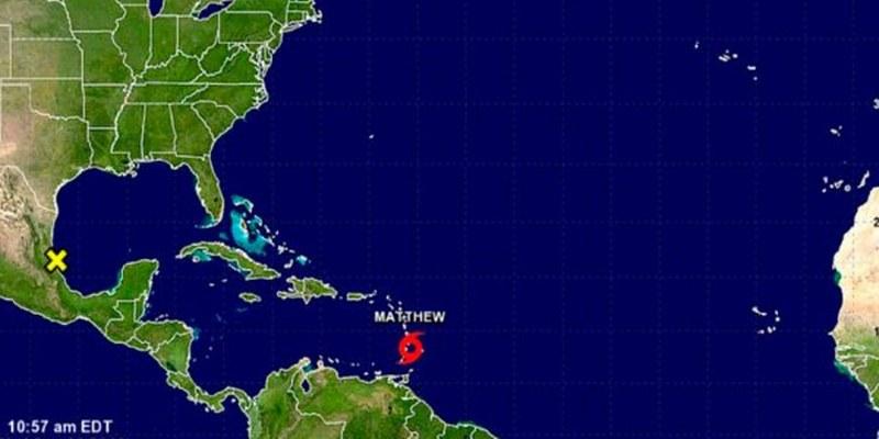 Matthew a huracán categoría 2 en el Atlántico