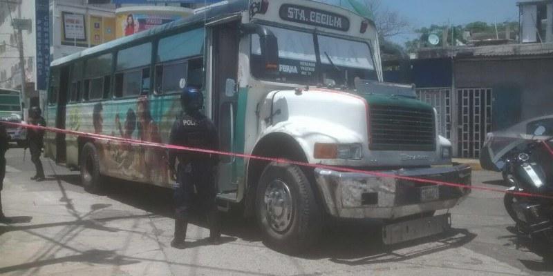 Matan a urbanero en Acapulco