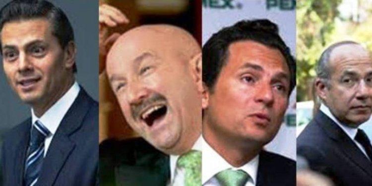 Mexicanos corruptos