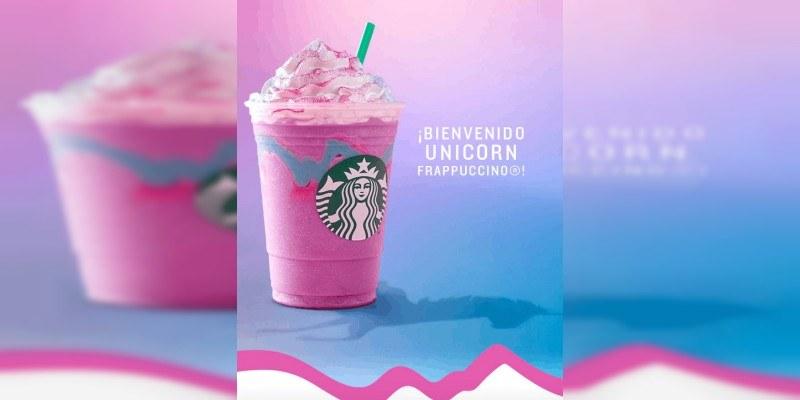 ¿Qué contiene frappuccino unicornio que causa furor?