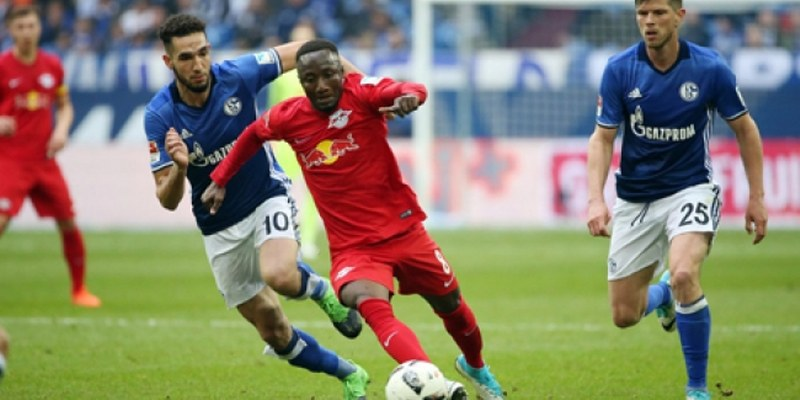 Leipzig empata 1-1 ante el Schalke 04 en la Bundesliga alemana