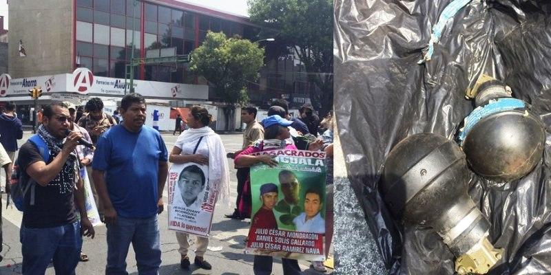 Condena el Centro Morelos agresión contra padres de los 43