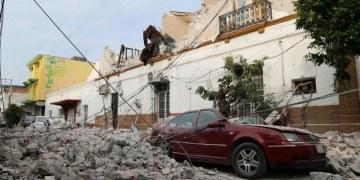 Devastación en Jojutla, Morelos