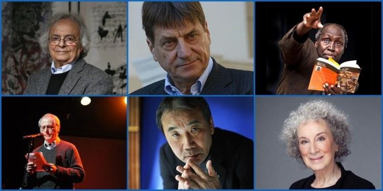 Candidatos al Nobel de literatura 2017