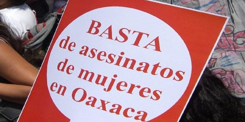 Oaxaca: suman 4 feminicidios cometidos en 24 horas