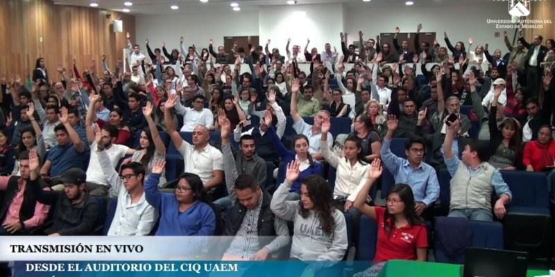 Elige Consejo Universitario a Urquía como próximo rector de la UAEM