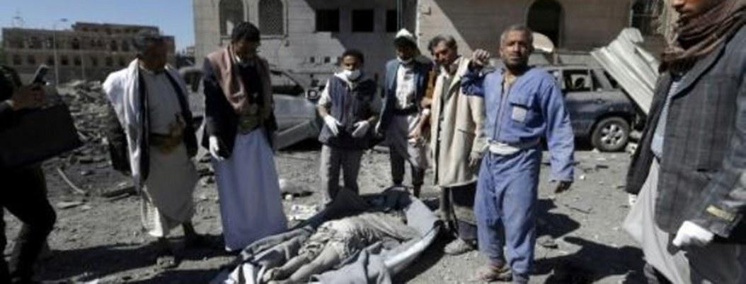 Ataque aéreo contra un campo de prisioneros en Yemen deja 30 muertos